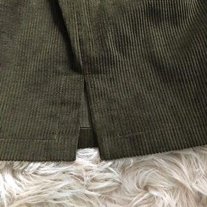 Philippe Adec Skirts - •philippe adec vintage fashion corduroy skirt•